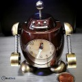 ROBOT MINIATURE SCI FI MECHANOID GEEK COLLECTIBLE RETRO ROBOTS DESKTOP ALARM CLOCK COOL GIFT IDEA
