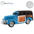 WOODY CLASSIC CAR MINIATURE COLLECTORS DESKTOP MINI