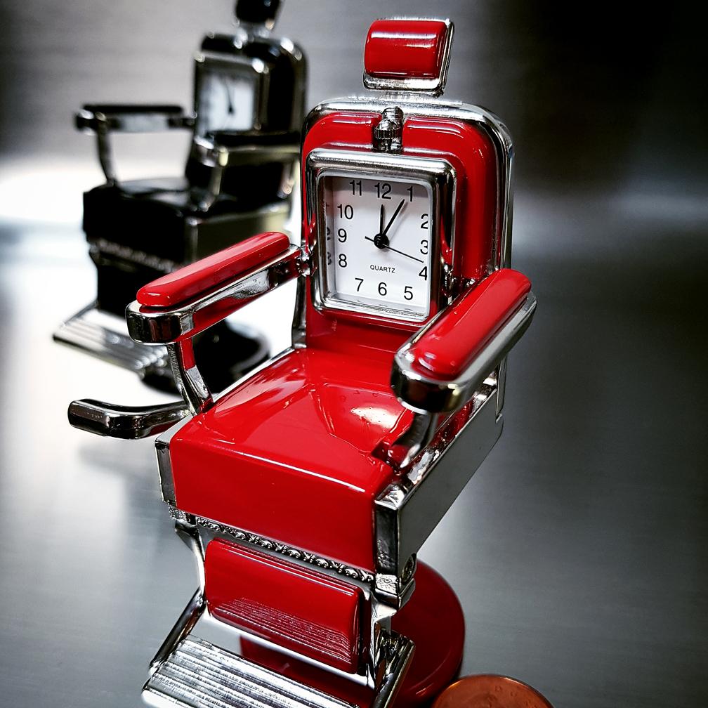 Barber Chair Miniature Salon Hair Stylist Barber